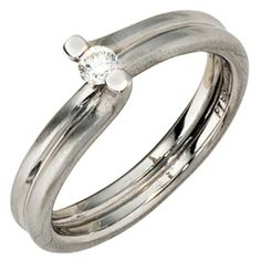 Damen-Ring teilmattiert Platin 950 1 Diamant 0.11 ct. 60 (19.1) Dreambase, http://www.amazon.de/dp/B00AWAK1YS/ref=cm_sw_r_pi_dp_yLljtb1M90PVN