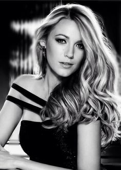 Blake Lively. She gets to be in here because I just don't understand how a human can be this beautiful