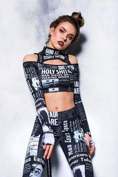 9d4ffcbbd6be8 Festival Cut Out Crop Top, rave crop top, black tank top, festival clothing,  women bodysuit, cyberpunk clothing, futuristic clothing