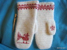 Etupistokirjontaa - Carelian embroidery