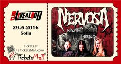 The Croatian Thrash/Death Metal band War-Head will support Nervosa at their Live show in Sofia on June 29 at Club Live & Loud. #Tickets available online to fans worldwide at: https://www.eticketsmall.com/product_info.php?products_id=635