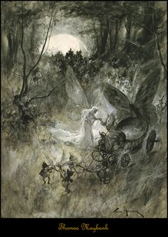 Faeries and Little Folk by thomas Maybank