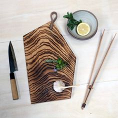 Scorched Ash chopping board tongs and spatulas are now back in...