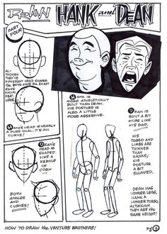 How To Draw The Venture Brothers - Page 9Venture Bros. Blog  