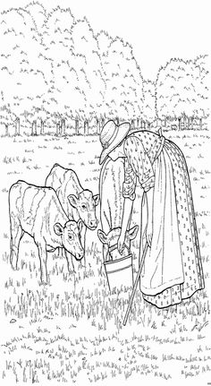 coloring page On the farm Kids-n-Fun