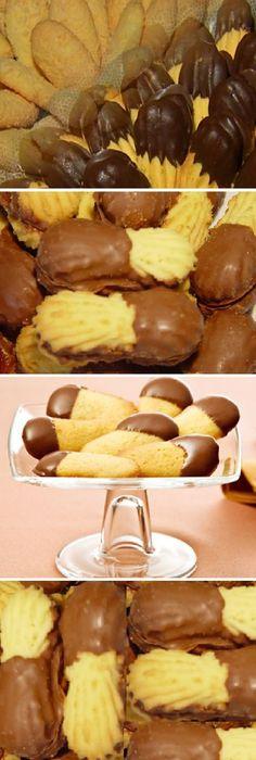 Después de probar estas galletas Lenguas de Gato, ya no volveremos a comprar a la panadería. ¡La familia entera le gusta mucho! #galletas #lenguasdegato #microondas #comohacer #receta #recipe #casero #torta #tartas #pastel #nestlecocina #bizcocho #bizcochuelo #tasty #cocina #chocolate #pan #panes Si te gusta dinos HOLA y dale a Me Gusta MIREN … Brownie Cookies, Cake Cookies, Bakery Recipes, Cookie Recipes, Delicious Deserts, Pan Dulce, No Bake Desserts, Sweet Recipes, Food To Make