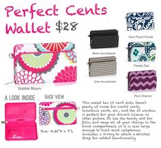Perfect Cents Wallet! Fits an Iphone!