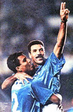 """Toninho Cerezo"" Antônio Carlos Cerezo (Cruzeiro Esporte Clube, 1994, 10 apps, 3 goals)"