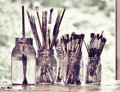 Paint Brushes... I wish and I love