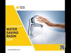 The TS- GROHE EcoJoy system cuts your water. Basin Taps, Save Water, Contemporary, Bathroom, Washroom, Bathrooms, Bath