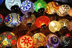 Grand Bazaar - Turkish lanterns