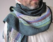 this woman makes incredible handwoven scarves. B.E.A.utiful