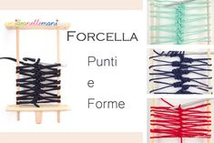 uncinetto forcella, forcella uncinetto, lavori forcella, punti uncinetto, strisce forcella, Hairpin Lace Crochet, Freeform Crochet, Crochet Beret, Irish Crochet, Loom Knitting, Knitting Stitches, Broomstick Lace, Needle Tatting, Gabel