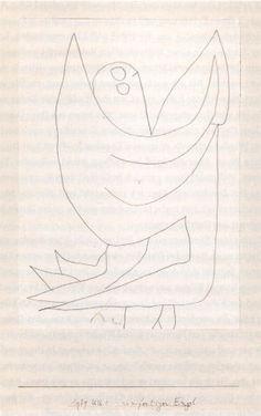 Paul Klee ~ unfertiger Engel ~ 1939