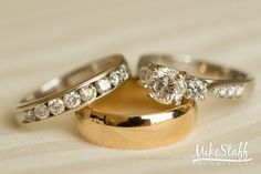 The #weddingring is the ultimate symbol of marriage.  But why do we wear them?  And why do brides get two?  We have the answers to wedding ring trivia (perfect for your #weddingshower games!)