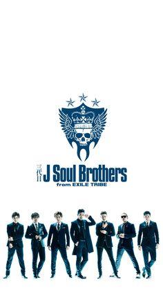 三代目 J Soul Brothers[iPhone用]9   スマホ壁紙.net