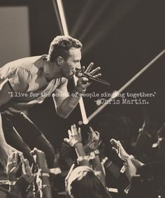 Chris Martin. From Coldplay. The best band ever.
