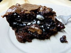 Oh yes I did!! This will truly put you into a sugar coma. Cookies 'N Cream Oreo Dark Chocolate Fudge Brownies Barely adapted from Kevin and Amanda. 1 box Ghirardelli Dark Chocolate Brownie Mix1/3 C vegetable oil2 eggs1/2 C Cookies
