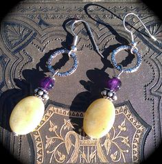 Summer Color handmade silver yellow and by practicallyfrivolous, $22.00