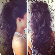 Will have to try this! ♥ this Mohawk updo