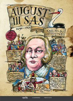 August III Sas - Learn Polish, Poland History, Visit Poland, E Mc2, School Notes, Historical Photos, Teaching, Education, Kids