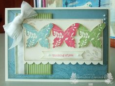 Andrea Lowcock - CASE of Teneale Williams - beautiful bright vintage card.
