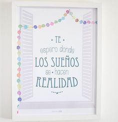 Láminas: decorar con frases   Decorar tu casa es facilisimo.com