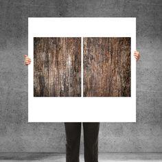 Alt. Holz-Sticker für Ikea Fullen Badunterschrank von banjado-aufgemoebelt auf DaWanda.com