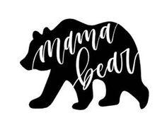 Mama Bear Iron on decal / mom iron on decal / mom bear decal / iron on / mama be - Monogram Fishing Shirt - Ideas of Monogram Fishing Shirt - Mama Bear Iron on decal / mom iron on decal / mom bear decal / iron on / mama bear shirt / bear shir Cricut Vinyl, Vinyl Decals, Car Decals, Car Window Decals, Vinyl Crafts, Vinyl Projects, Mama Bear Shirt, Momma Bear, Cricut Svg Files Free