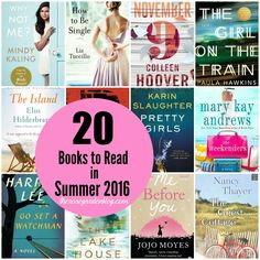 20 Books to Read in Summer 2016 | The Rose Garden Blog