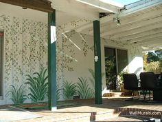 Outside Wall Murals By Colette: Murals Painted Outside   Painted Side Of  House To Look