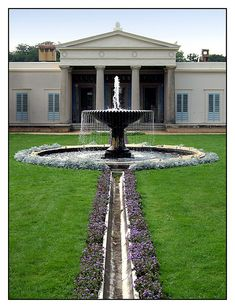 Potsdam, Park Sanssouci, Schloss Charlottenhof, Karl Friedrich Schinkel
