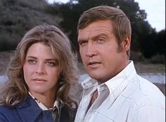 Steve Austin and Jaime Summers.~ The Six Million Dollar Man and The Bionic Woman. Loved it when they worked together and eventually settled down.