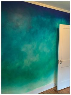 Best Fabulous Ombre Wall Paint Designs and Ideas Beste fabelhafte Ombre Wandfarbe Designs und Ideen – BosiDOLOT Wall Stencil Patterns, Stencil Walls, Paint Patterns For Walls, Paint Designs For Walls, Wall Painting Stencils, Lazure Painting, Home Wall Painting, Painting Logo, Creative Wall Painting