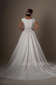 Modest Wedding Dresses : Imogen. Latter Day Bride, Gateway Bridal & Prom