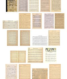 A collection of many free printable vintage designs - in a variety of themes by Angie at 'Knick of Time' #printable #ephemera
