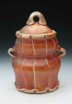 Fluted Jar by GertrudeGrahamSmith on Etsy, $75.00