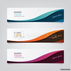 Banner Template, Web Banner, Design Elements, Web Design, Templates, Abstract, Elements Of Design, Summary, Design Web