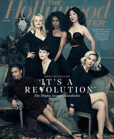 Angela Bassett, Claire Foy, Maggie Gyllenhaal, Elisabeth Moss, Thandie Newton & Sandra Oh on the Cover of The Hollywood Reporter Prom Photography Poses, Group Photography, Portrait Photography, Children Photography, The Hollywood Reporter, Hollywood Actresses, Actors & Actresses, Divas, Thandie Newton