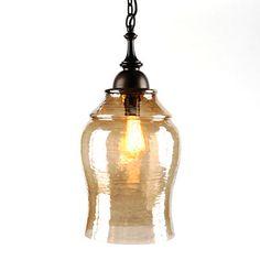 Amber Glass Pendant Light | Kirklands