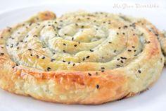Mi Gran Diversión: Espiral rellena de carne con espinacas y queso fresco