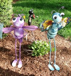 Busy Bug garden stakes at This & That Gifts, Frankfort, IL