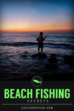 Surf fishing from the beach is one of the best ways to catch fish while finding a meditative state. Use this guide to find where the fish are hiding so you can catch more. Surf Fishing Tips, Usa Fishing, Fishing Rigs, Fishing Guide, Sport Fishing, Carp Fishing, Saltwater Fishing, Women Fishing, Fishing Tackle