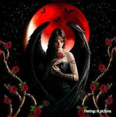 Dark Gothic Art, Gothic Artwork, Gothic Wallpaper, Dark Artwork, Skull Artwork, Fantasy Witch, Dark Fantasy Art, Gothic Pictures, Gothic Angel