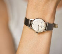 Simple lady's watch Dawn casual women's wristwatch by SovietEra