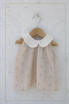 Chic and feminine dresses: The Habitatacion of Nachete My Baby Girl, Baby Love, Kids Outfits Girls, Girl Outfits, Little Fashionista, Girl Inspiration, Kid Styles, Baby Sewing, Fashion Kids