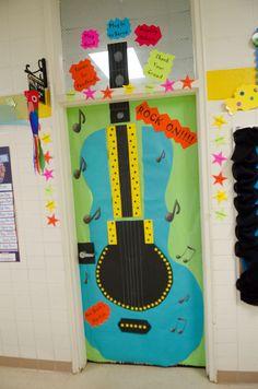 18 Best Pto Rock N Roll Door Images Music Classroom Classroom