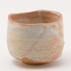 Tea bowl from Ken Matsuzaki, shino glaze.
