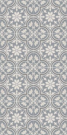 Floor tile: This is a vinyl floor tile, but I would love to find it in a concrete tile