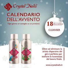 Calendario dell'avvento Crystal Nails - 18 dicembre #cleanser #crystalnails
